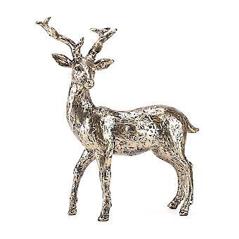 Widdop & Co. Meg Hawkins Collection Bronze Finish Resin Stag Figurine