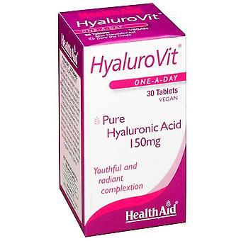 Terveysapu HyaluroVit 30 Comprimidos Ácido Hialurónico