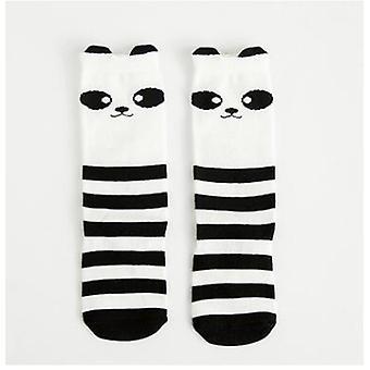 Baby Leg Warmers Cartoon Cute Print Cotton Leg Warmers