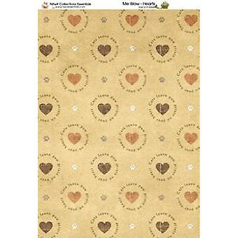 Nitwit Collection - MW Hearts Paper A4 10 Sheets