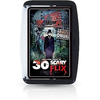 Top Trumps Unofficial Guide to Top 30 Scary Flix Card Game