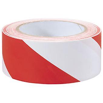 """דרייפר 69010 33m x 50 מ""""מ קלטת הזארד אדום לבן"""