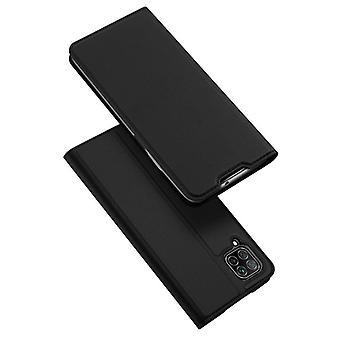 Dla huawei p40 pro case shockproof anti fall flip klapka pokrywa czarna