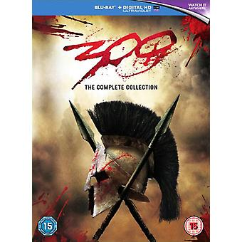 300 & 300: Rise Of An Empire Double Pack Blu-ray