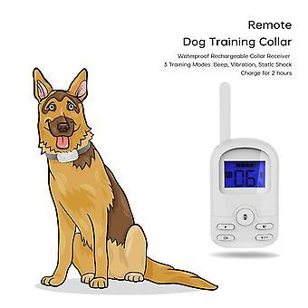 الكلب تدريب طوق المضادة للنباح 800m التحكم عن بعد اهتزاز الصدمات الكهربائية تحذير الحيوانات الأليفة لوازم الإلكترونية المساعدات التدريب للماء