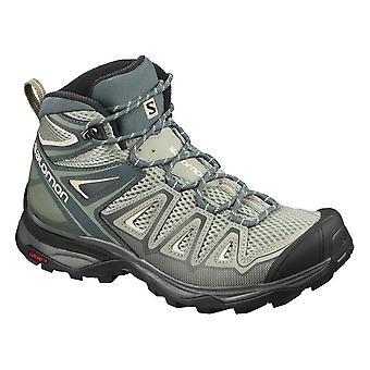 サロモンXウルトラミッド3エアロ410440トレッキング一年女性靴