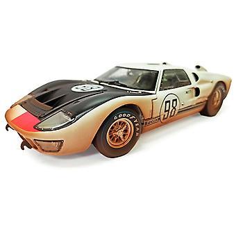 Ford GT40 Mk II Ken Miles - Lloyd Ruby (Daytona 24Hrs Post-Race Dirty Version 1966) Diecast Model