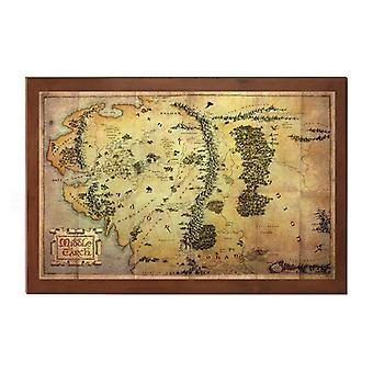 Middle Earth Map Prop Replica from The Hobbit An Unexpected Journey