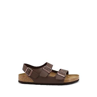 Birkenstock - Sapatos - Chinelos - MILANO-34701-DARKBROWN - Unisex - saddlebrown - EU 44