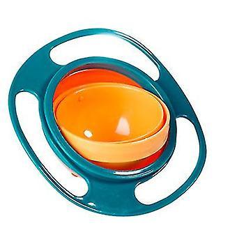 Green universal gyro bowl, children's 360-degree rotating balance bowl az3199