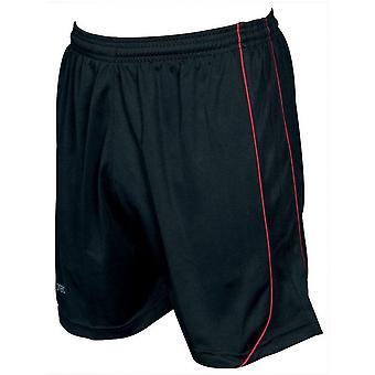 Presné šortky Mestalla 34-36 palcov čierna/červená