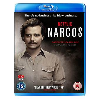 Narcos Season 1 Blu-ray