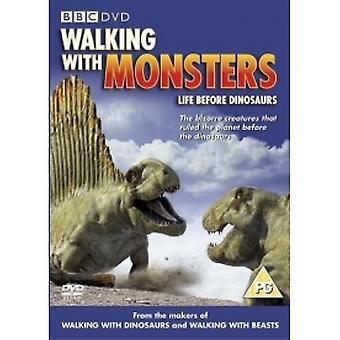 Spacery z potworami DVD