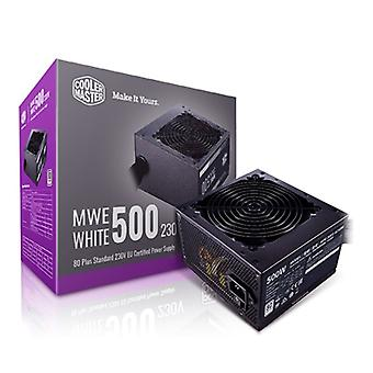 Cooler Master MWE 500W 230V V2 120mm HDB Fan 80 PLUS Certified PSU