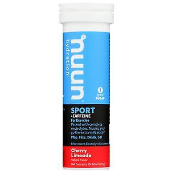 Nuun Sport Caff Chry Lmnade, Case of 8 X 10 TB