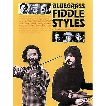Bluegrass Fiddle Styles by Stacy Phillips & Kenny Kosek