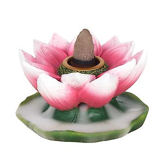 Farbenfroher Lotus Backflow Burner