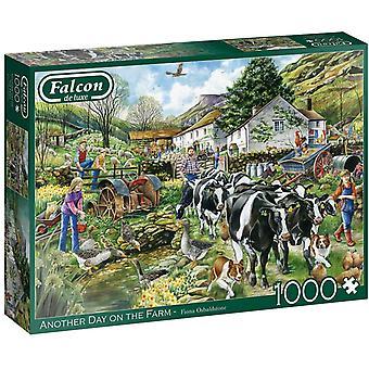 Jumbo 11283 Falcon  Another Day on the Farm 1000 Jigsaw