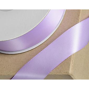 25m Lila 6mm cinta de satén ancho para artesanías