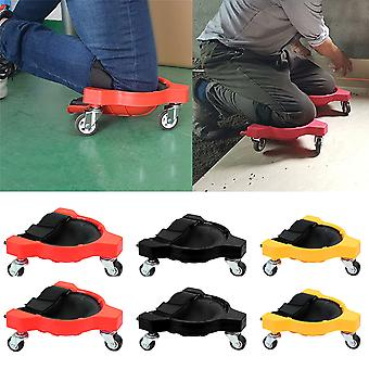 Multifunctional Sliding Knee Pads Bearing Labor-Sa Knee Pads Universal Movable Rollers Wheel Pulley Knee Pad Protector