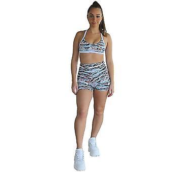 Kali nahtlose High Rise Yoga Shorts - Cobra Druck