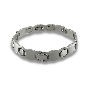 Stainless Steel Hugs / Kisses Ladies Bracelet XOXO