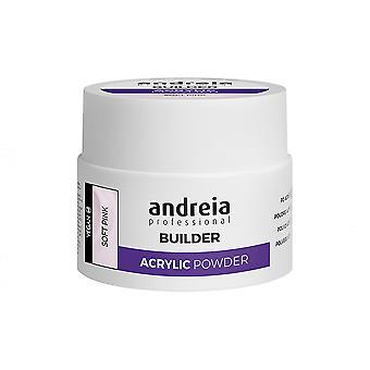 Traitement pour ongles Professional Builder Poudre Acrylique Andreia Pink (35 g)