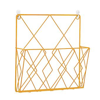 Modern Creative Wall Storage Rack Decorative Wall Iron For Home Bedroom Books Bedroom Magazines Books Gold Display Stands