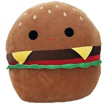 30cmハンバーガーぬいぐるみ人形枕ぬいぐるみキッドギフト-1
