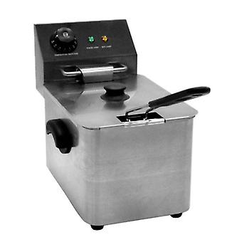 4 Liter Zyco Professional einzelne Fryer einstellbarer Thermostat Steuerelemente