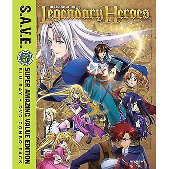 Legende van de legendarische helden: Comp serie [Blu-ray] USA import