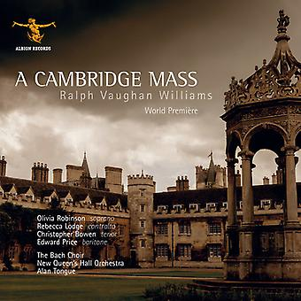Vaughan Williams / Robinson / Lodge / Bach kuoro - Cambridge massa [CD] USA tuonti
