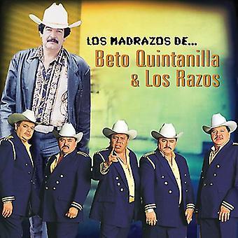 Los Razos Y Beto Quintanilla - Los Madrazos De Los Razos Y Beto Quintanilla [CD] USA import