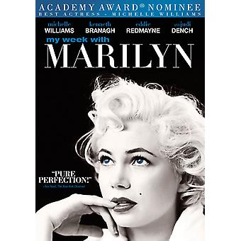 My Week with Marilyn [DVD] USA import