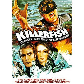 Killer Fish [DVD] USA import