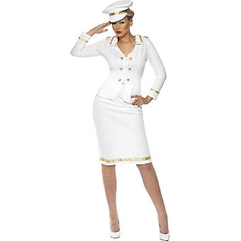 Costume de capitaine pour dames uniforme de capitaine Capitaine officier marine