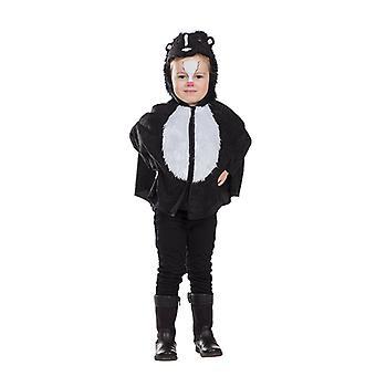Kleine stinkerd Cape Skunk Skunk kostuum voor kinderen dieren kostuum