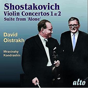 Oistrakh, David / Rozhdestvensky, Gennady / Ussr Sso - Shostakovich: Violin Concertos 1 & 2 Suite From Al [CD] USA import