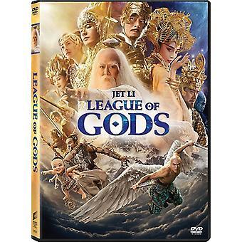 Liga af guderne [DVD] USA importerer