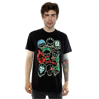 Suicide Squad Men's Band Of Skulls T-Shirt