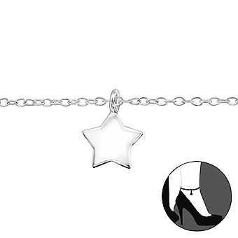 Star-925 Sterling Silver anklets-W31576X
