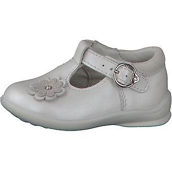 Ricosta Pepino Girls Winsy T-bar Shoes White