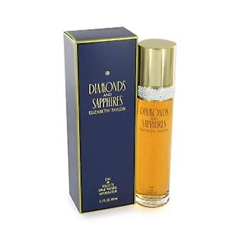 Elizabeth Taylor Diamonds & Sapphires Eau de Toilette 100ml EDT Spray