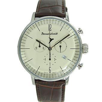 Aristo Messerschmitt mens watch chronograph Aviator watch ME-4 H 152