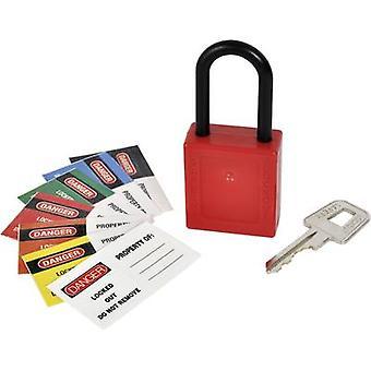 Kasp K80040 Padlock non-sparking Red Key
