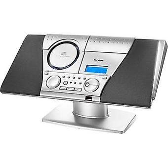 Karcher MC 6550(N) system Audio AUX, płyty, taśmy, FM, ścianie zamontować wsporniki Silver