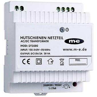 m-e modern-electronics 40778 Door intercom DIN rail power supply unit White