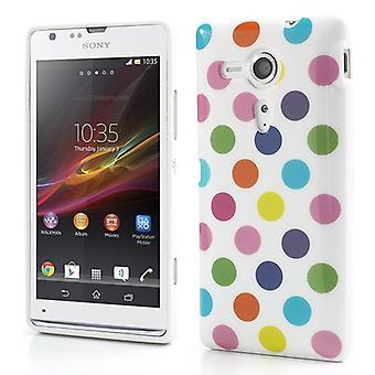 मोबाइल फोन सोनी Xperia L S36h के लिए सुरक्षात्मक मामले