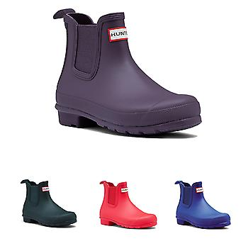 Womens Hunter Original Chelsea Winter Snow Rain Waterproof Ankle Boots UK 3-9