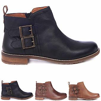 Womens Barbour Sarah Leather Buckle Winter Work Casual Fashion Ankle Boot